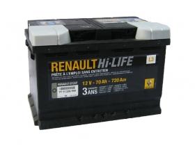 АКБ Renault Hi-Life 70 А/ч