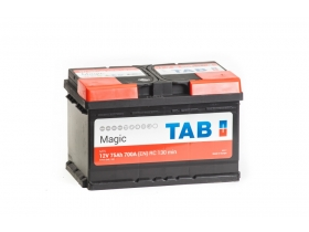 Аккумулятор TAB Magic 75 А/ч обратная полярность (низкий)