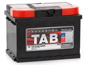 Аккумулятор TAB 62 А/ч обратная полярность (низкий)