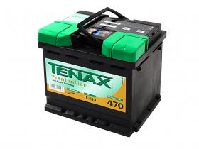 "Аккумуляторная батарея Tenax 52А/ч обратная полярность,""кубик."
