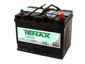 Аккумуляторная батарея Tenax 68А/ч Asia обратная полярность.Германия.