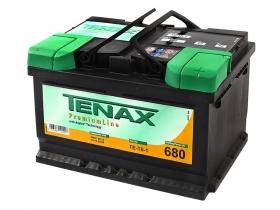 Аккумуляторная батарея Tenax 72 А/ч низкий обратная полярность.Германия.