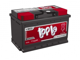 Авто аккумулятор Topla 75 А/ч, прямая полярность