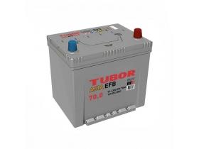 Аккумулятор TUBOR  ASIA EFB 70 а/ч обратная полярность