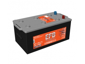 Аккумулятор TUBOR EFB 190 а/ч обратная полярность