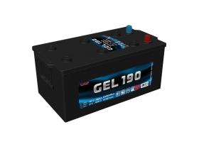 Аккумулятор TUBOR GEL 190 а/ч обратная полярность (гелевый)