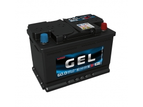 Аккумулятор TUBOR GEL 60 а/ч обратная полярность (гелевый)