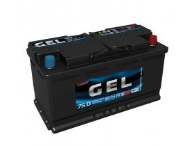 Аккумулятор TUBOR GEL 75 а/ч обратная полярность (гелевый)