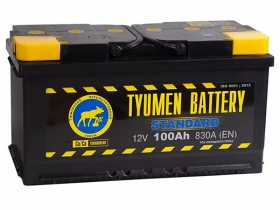 Аккумулятор Тюмень 6СТ-100 а/ч прямая полярность
