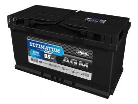 Ultimatum AGM 95 А/ч обратная полярность