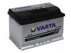 Аккумулятор VARTA Black D 70 А/ч обратная полярность (570 144)