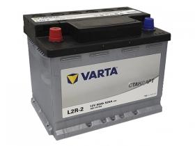 Аккумулятор VARTA СТАНДАРТ 60 а/ч прямая полярность (560310052)