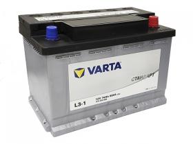 Аккумулятор VARTA СТАНДАРТ 74 А/ч обратная полярность (574300068)