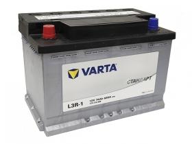 Аккумулятор VARTA СТАНДАРТ 74 а/ч прямая полярность (574310068)