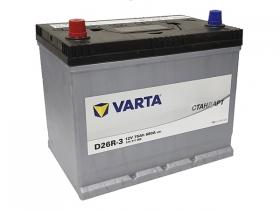 Аккумулятор VARTA СТАНДАРТ 75 а/ч прямая полярность (азия) 575311068