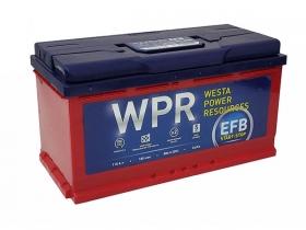 Аккумулятор WPR EFB 110 А/ч прямая полярность