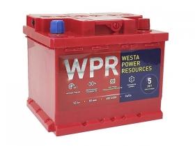 Аккумулятор WPR 50 А/ч обратная полярность