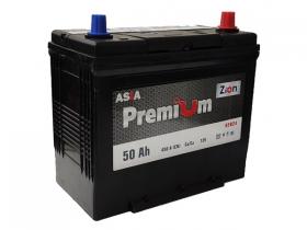 Аккумулятор ZION Premium 6СТ-50 А/ч обратная полярность (азия)