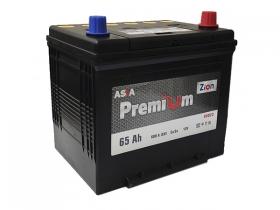 Аккумулятор ZION Premium  6СТ-65 А/ч обратная полярность (азия)