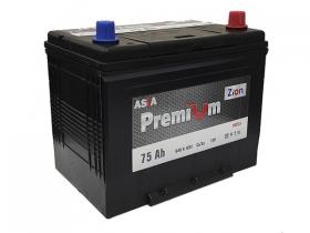 Аккумулятор ZION Premium 6СТ-75 А/ч обратная полярность (азия)