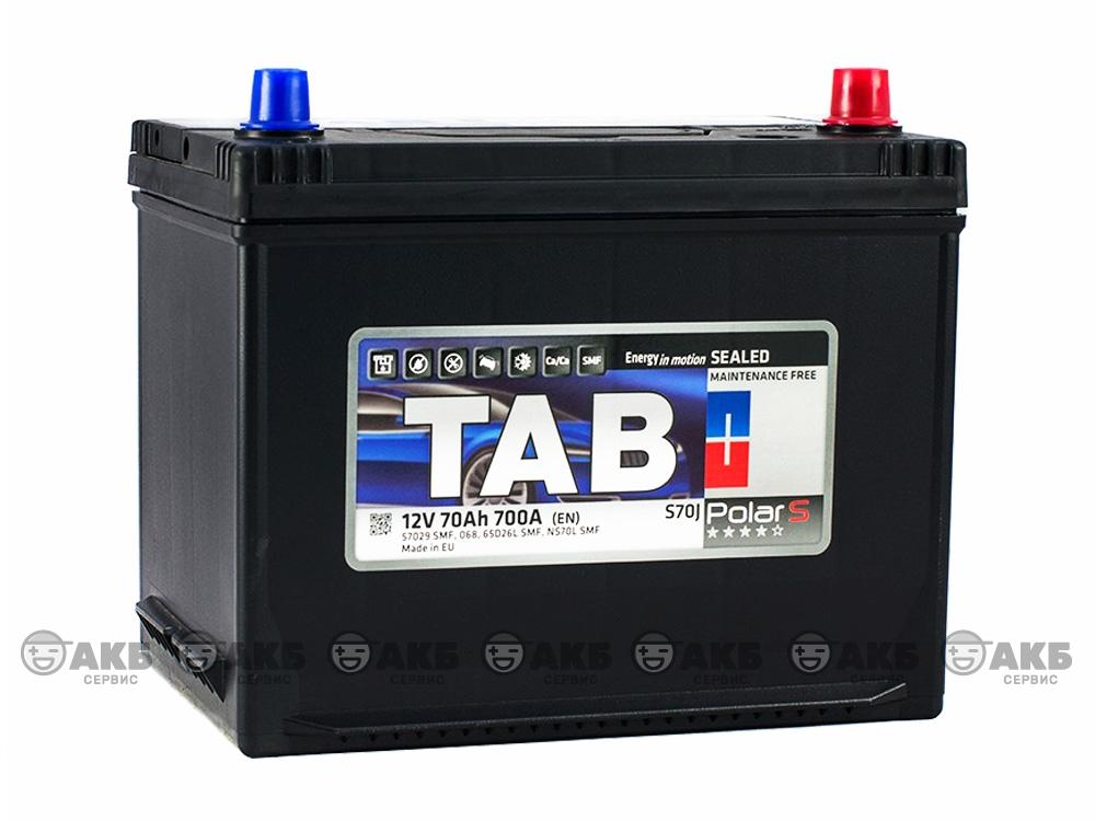 TAB Polar S JIS 70 А/ч