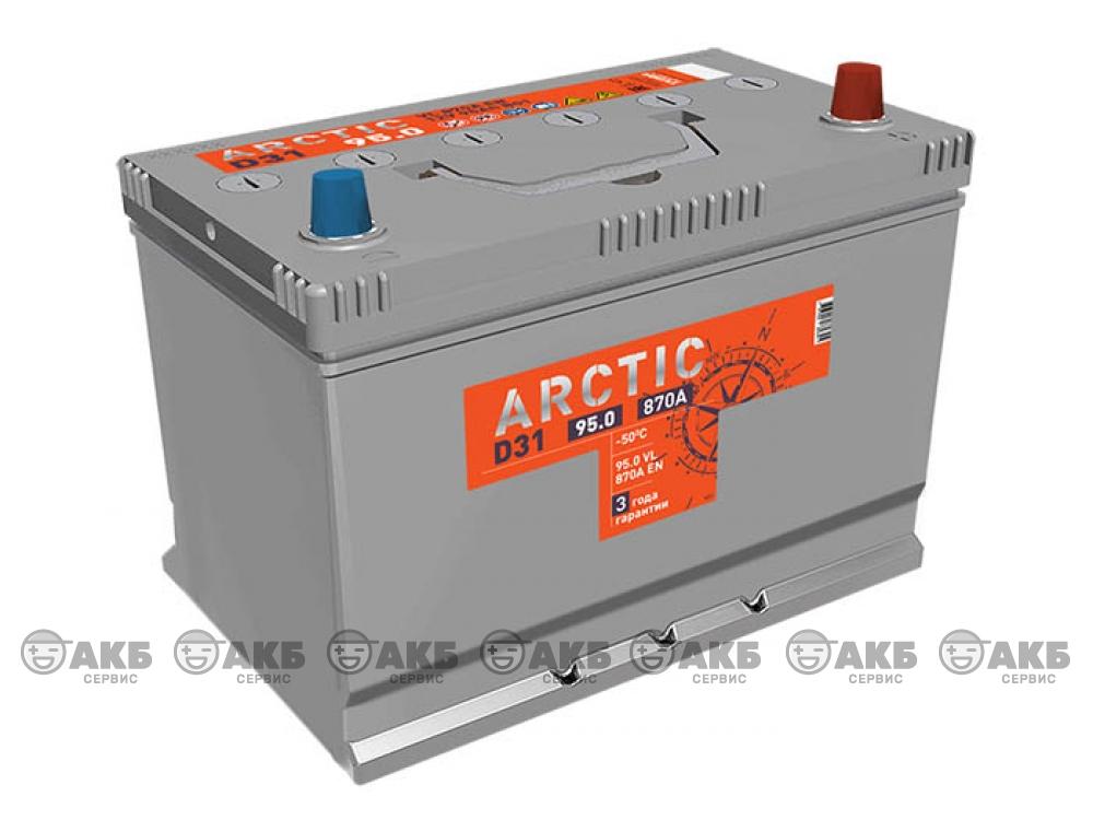 Аккумулятор TUBOR ARCTIC ASIA 95 а/ч обратная полярность