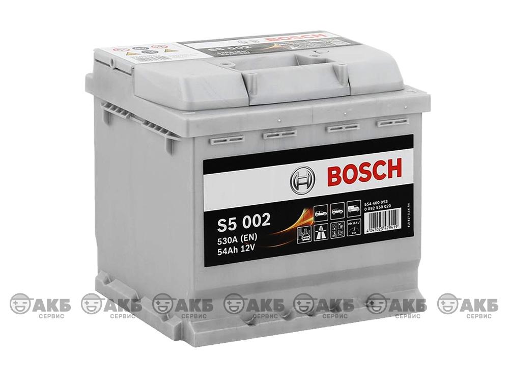 BOSCH S5 Silver Plus 54 А/ч
