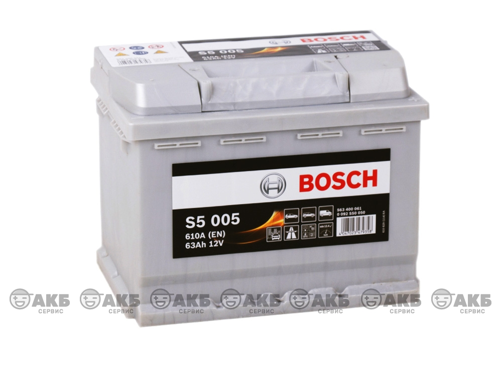 BOSCH S5 Silver Plus 63 А/ч