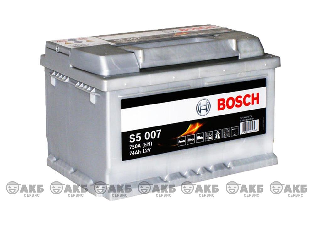 BOSCH S5 Silver Plus 74 А/ч