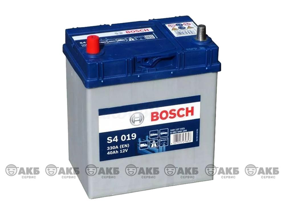 АКБ Bosch S4 Silver 40 А/ч