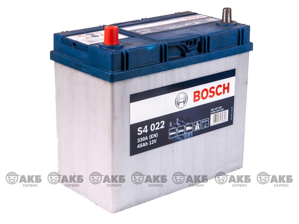 Bosch S4 Silver 45 А/ч