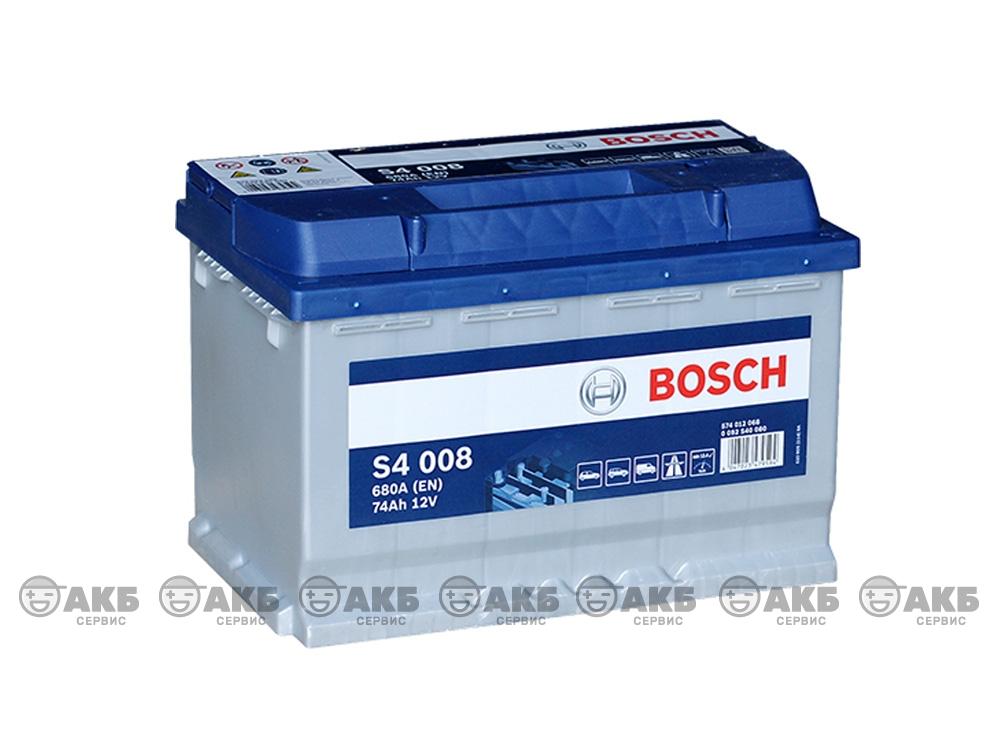 АКБ Bosch S4 74 А/ч