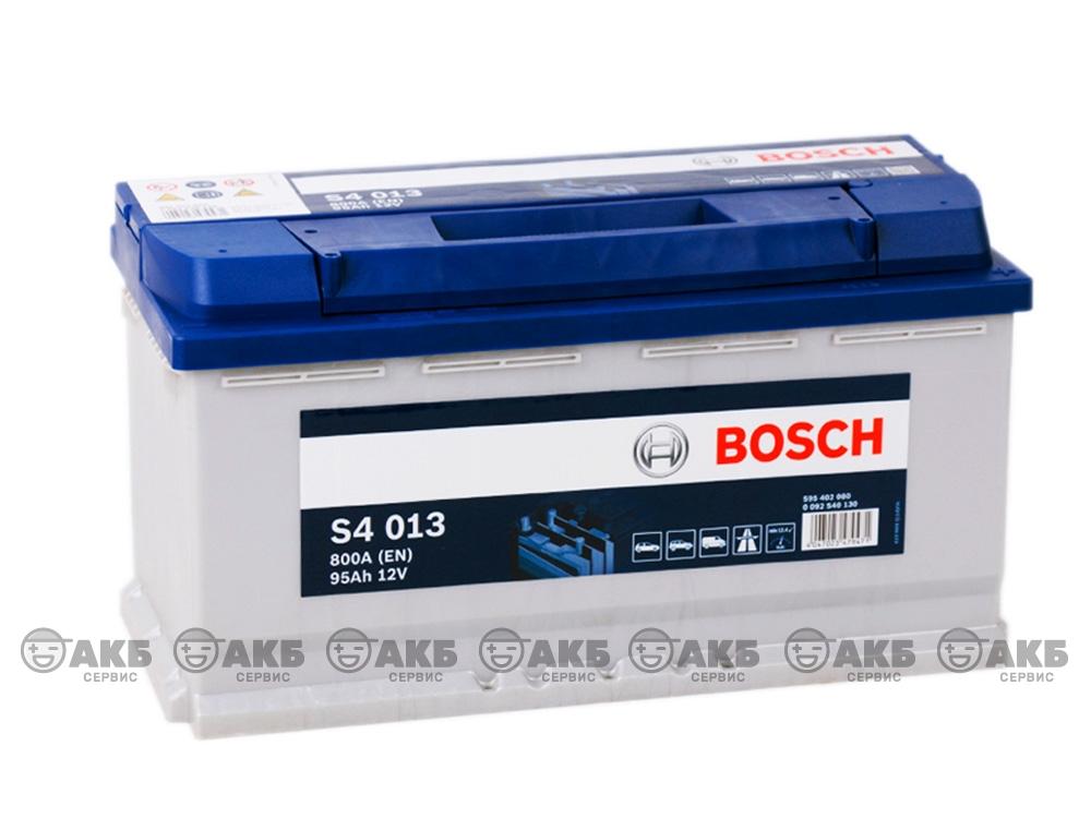 АКБ Bosch S4 Silver 95 А/ч обратная полярность
