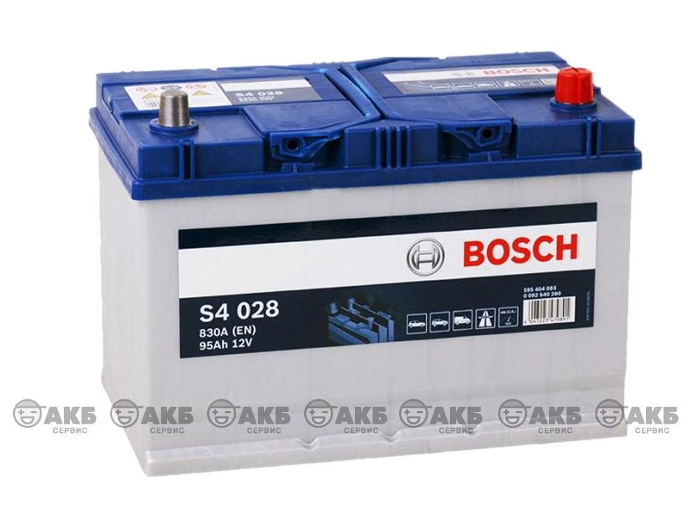 BOSCH S4 Silver 95 А/ч