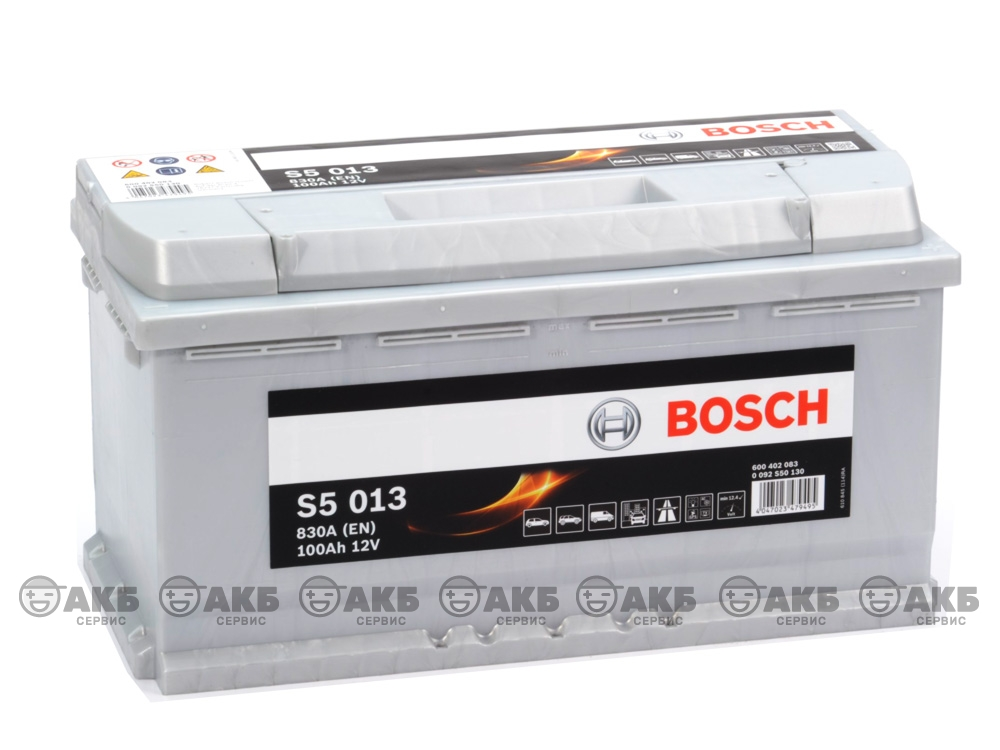 BOSCH S5 Silver Plus 100А/ч
