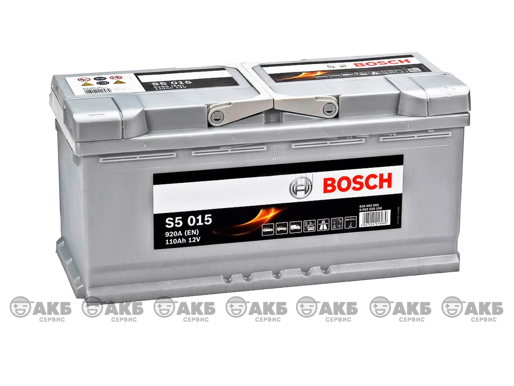 Bosch S5 Silver Plus 110 А/ч