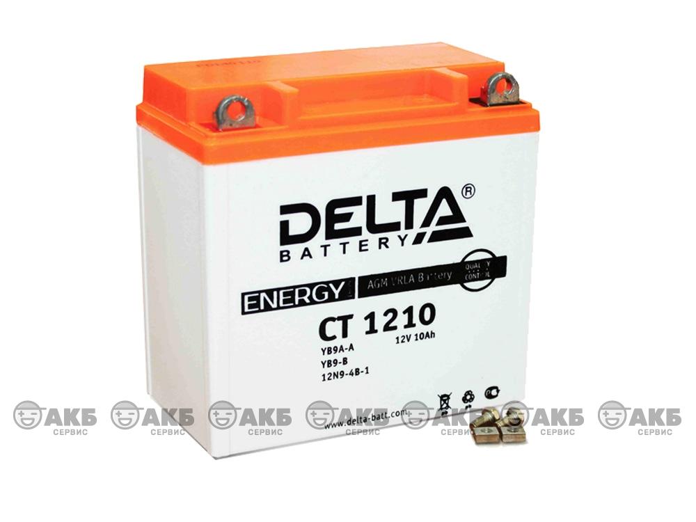 Мото аккумулятор Delta CT-1210