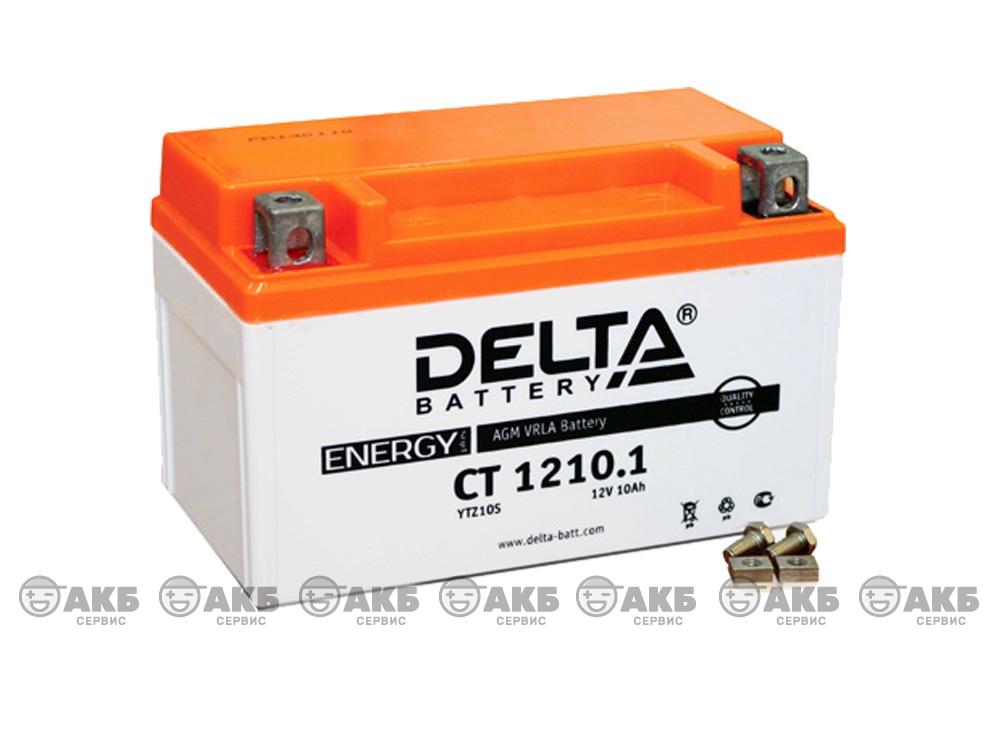 Мото аккумулятор Delta CT-1210.1