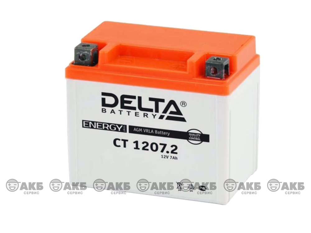 Аккумулятор Delta CT-1207.2