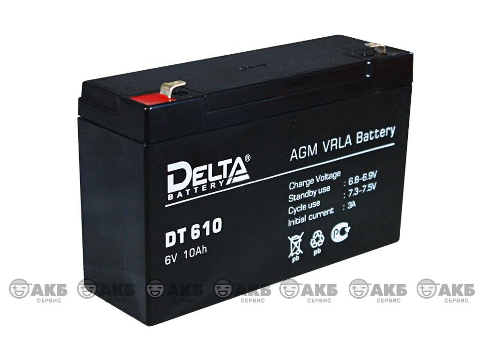 Аккумулятор для источника бесперебойного питания Delta DT 610