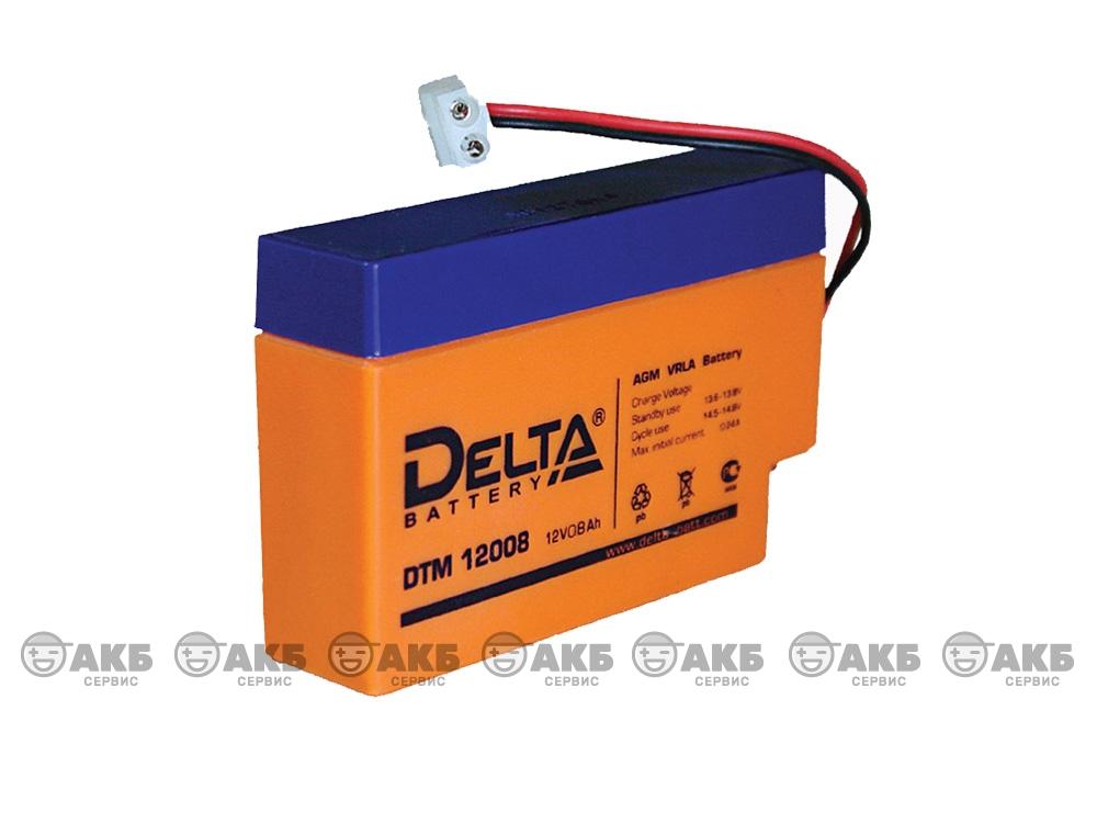 Аккумулятор для источника бесперебойного питания Delta DTM 12008