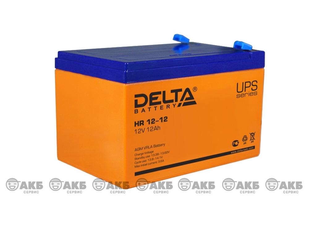 Аккумулятор для источника бесперебойного питания Delta HR 12-12