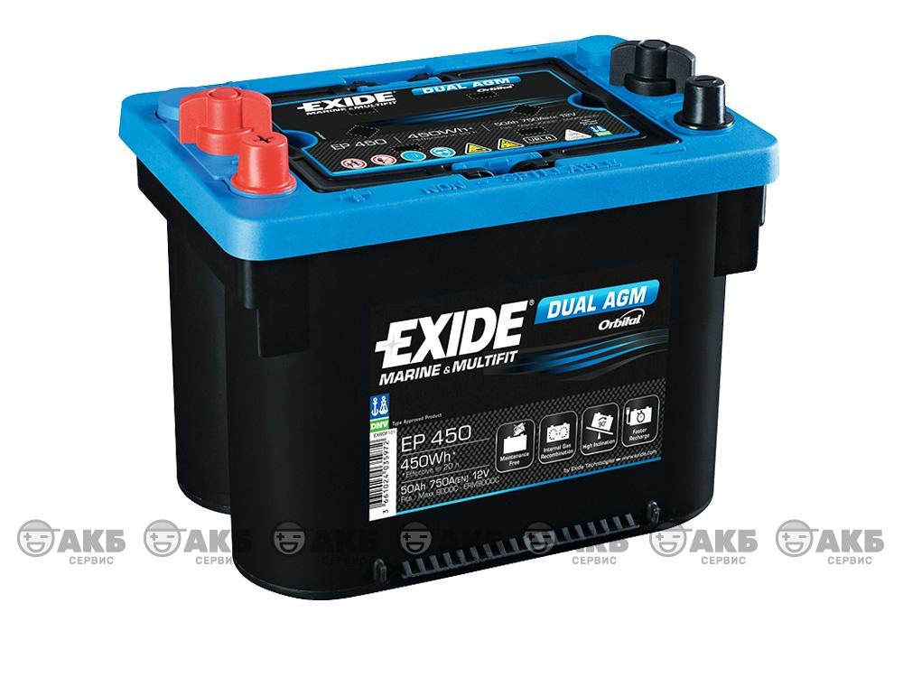 АКБ Exide EP 450 AGM 50 А/ч