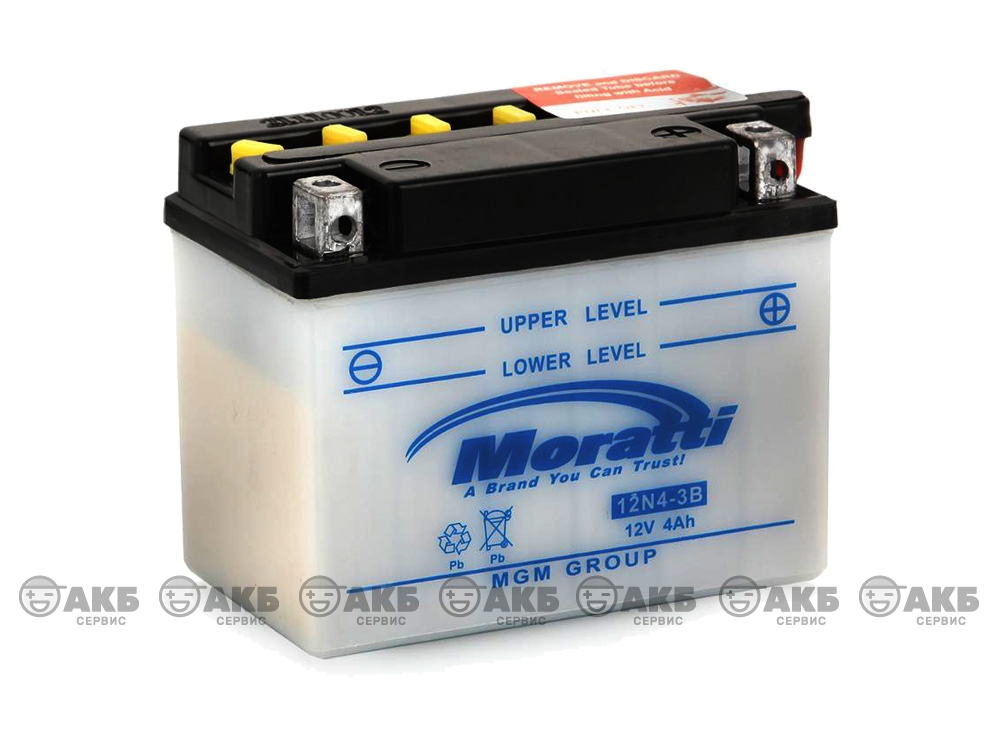 Аккумулятор Moratti 12N4-3B