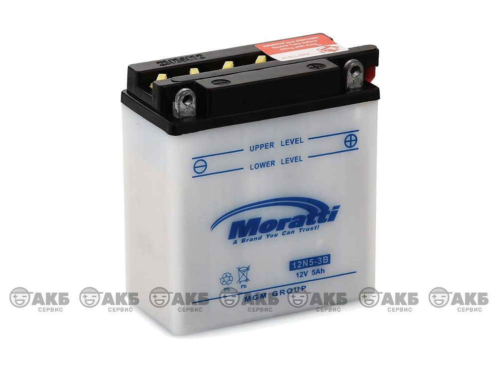 Аккумулятор Moratti 12N5-3B