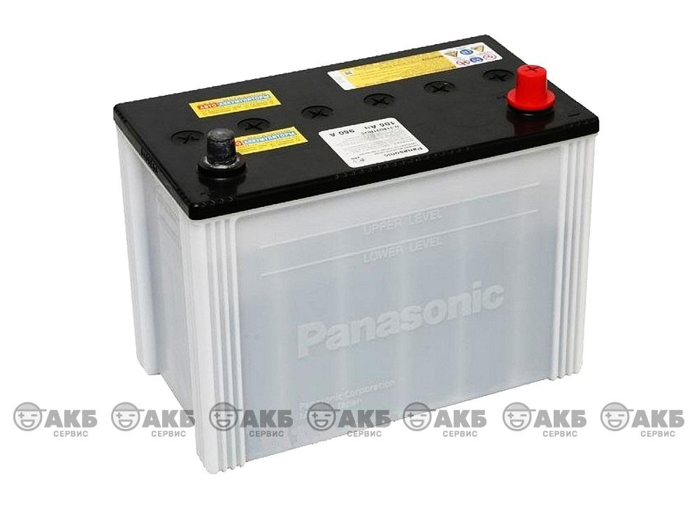 АКБ Panasonic 80 A/ч обратная полярность(N-90D26L/JE)