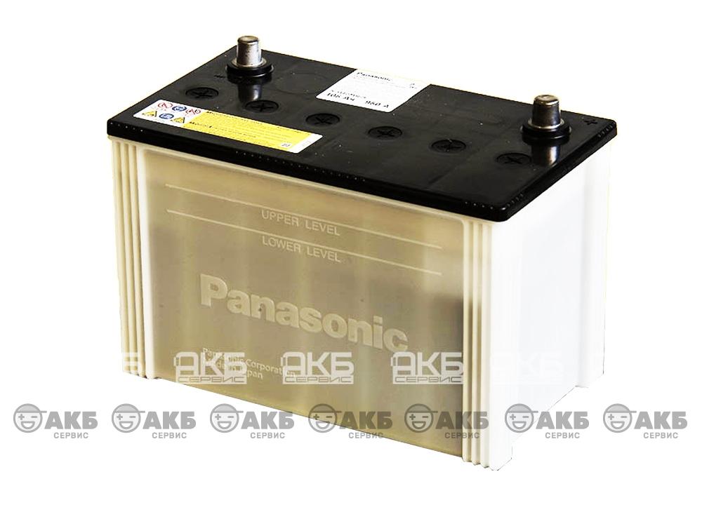 АКБ Panasonic 105 A/ч прямая полярность(N-115D31R/JE)