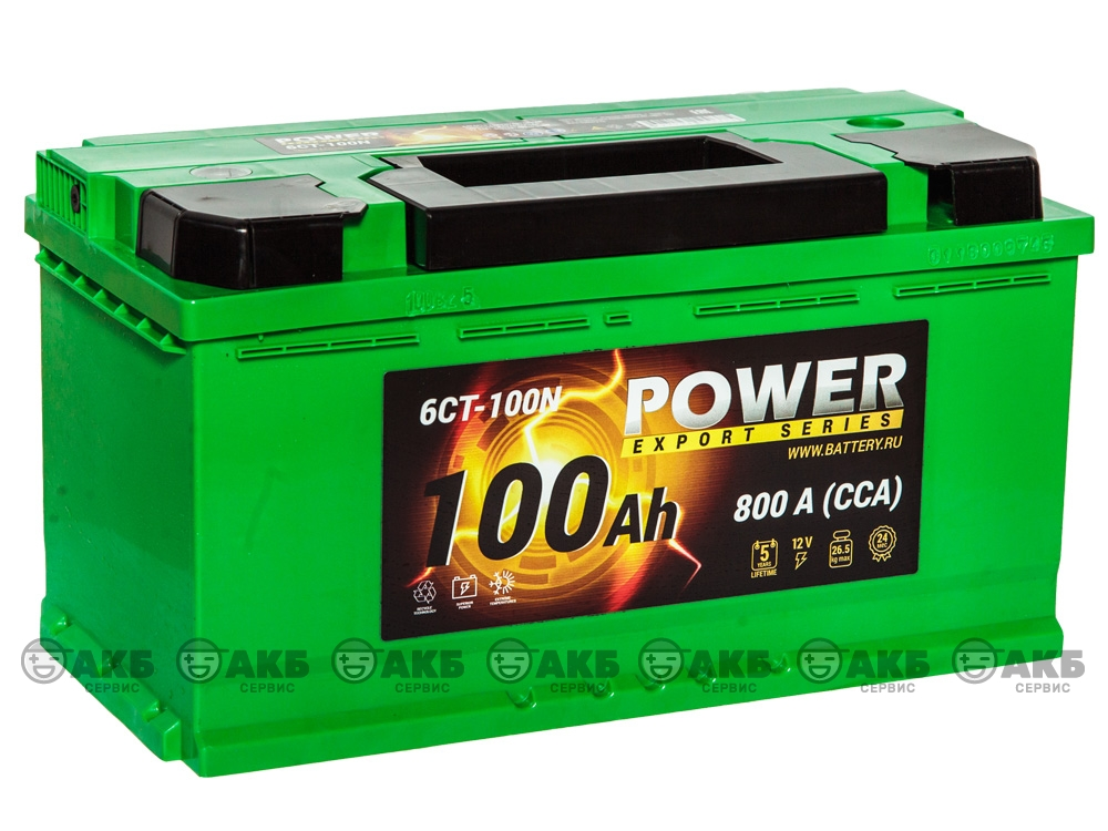 АКБ Power 100 А/ч прямая