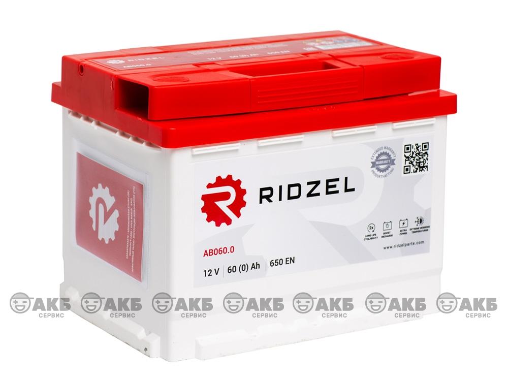 Ridzel 60 А/ч обратная