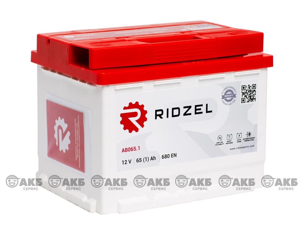 АКБ Ridzel 65 А/ч прямая полярность